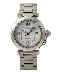 Cartier Pasha Automatic White Dial Watch