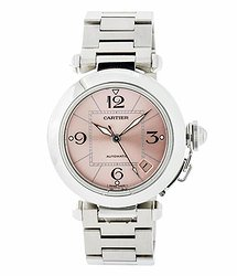 Cartier Pasha Pink Dial Men's Watch