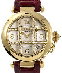 Cartier Pasha Silver-tone Dial Ladies Watch