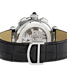 Cartier Pasha Silver-tone Dial Men's Watch
