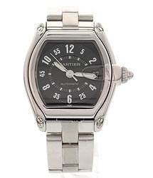 Cartier Roadster Automatic Black Dial Men's Watch