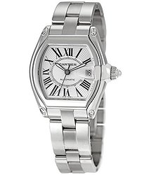 Cartier Roadster Automatic Silver Dial Men's Watch