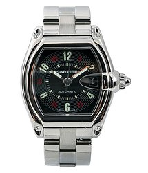 Cartier Roadster Black Dial Men's Watch