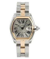 Cartier Roadster Silver Ladies Watch