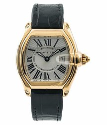 Cartier Roadster Silver-tone Dial Ladies Watch