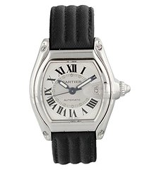 Cartier Roadster White Dial Men's Watch