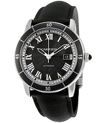 Cartier Ronde Croisiere Automatic Gray Dial Men's Watch