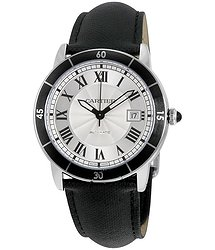 Cartier Ronde Croisiere Automatic Silver Dial Men's Watch