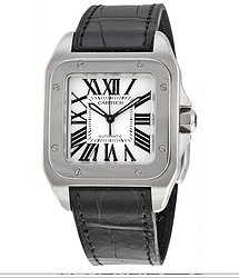 Cartier Santos 100 Automatic Watch