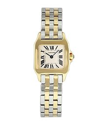 Cartier Santos Demoiselle Quartz White Dial Ladies Watch