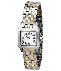 Cartier Santos Demoiselle White Dial Ladies Watch