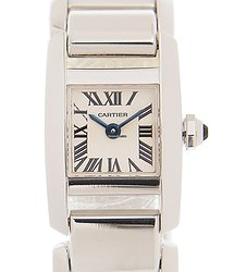Cartier Tank 18kt White Gold Beige Quartz W650029H