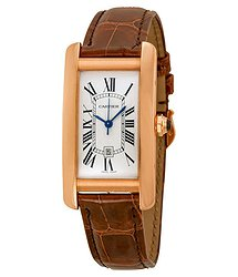 Cartier Tank Americaine 18kt Pink Gold Medium Watch
