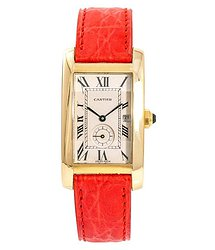 Cartier Tank Americaine White Dial Men's Watch