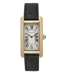 Cartier Tank Americaine White Dial Unisex Watch