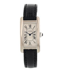 Cartier Tank Americaine WhiteDial Ladies Watch