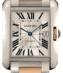 Cartier Tank Anglaise Large Mens Watch