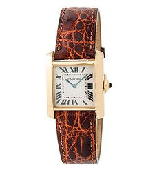 Cartier Tank Beige Dial Ladies Watch