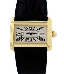 Cartier Tank Divan Automatic White Dial Ladies Watch