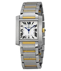 Cartier Tank Francaise 18kt Yellow Gold and Steel Men's Watch