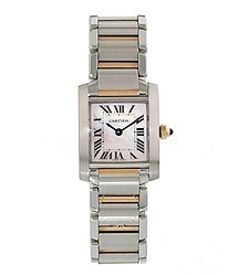 Cartier Tank Francaise Quartz Ladies Watch