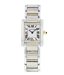 Cartier Tank Francaise Quartz White Dial Ladies Watch