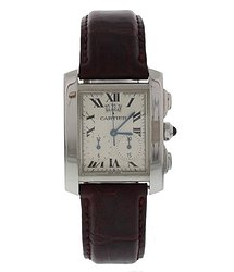 Cartier Tank Francaise Quartz White Dial Watch