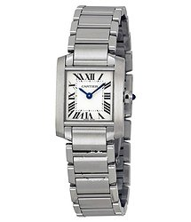 Cartier Tank Francaise Steel Ladies Watch