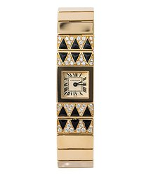 Cartier Tank Lingot Quartz Diamond Ladies Watch