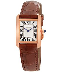 Cartier Tank Louis Silvered Beaded Dial Ladies Hand Wound Watch