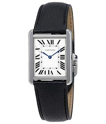 Cartier Tank Opaline Dial Ladies Watch