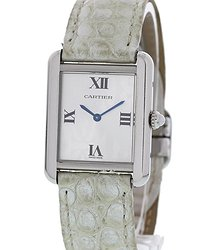 Cartier Tank Solo Quartz Silver Dial Ladies Watch