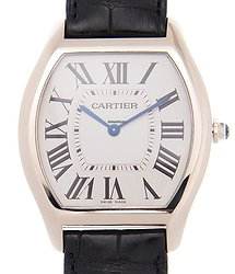 Cartier Tortue 18kt White Gold White Automatic WGTO0003