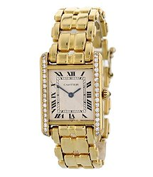 Cartier WhiteDial Ladies Watch