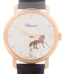Chopard Classic 18kt Rose Gold White Automatic 161278-5015