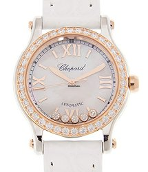 Chopard Happy Sport 18kt Gold & Diamond & Steel White Automatic 278573-6020