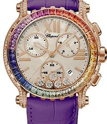 Chopard Happy Sport Chronograph Rainbow