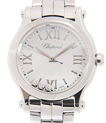Chopard Happy Sport Stainless Steel White Quartz 278590-3002