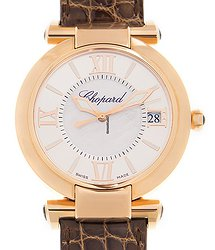 Chopard Imperiale 18kt Rose Gold White Automatic 384241-5001