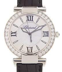 Chopard Imperiale 18kt White Gold & Diamond White Automatic 388531-3010