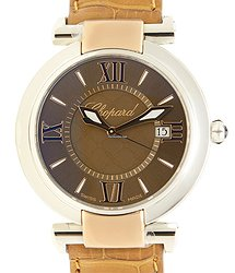 Chopard Imperiale Stainless Steel Brown Quartz 388532-6011