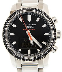 Chopard Mille Miglia Gt Xl Stainless Steel Black Quartz 158518-3001