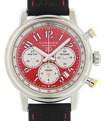Chopard Mille Miglia Gt Xl Stainless Steel Red Automatic 168589-3008