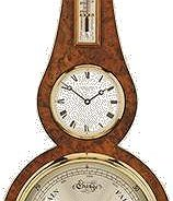 Comitti Barometers The Regency Banjo With Clock