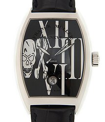 Franck Muller Cintree Curvex Stainless Steel Black Automatic 7880 Sc Dt Goth (ac) - BLACK