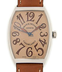 Franck Muller Cintree Curvex Stainless Steel Brown Automatic 6850 B C SAHARA(AC)