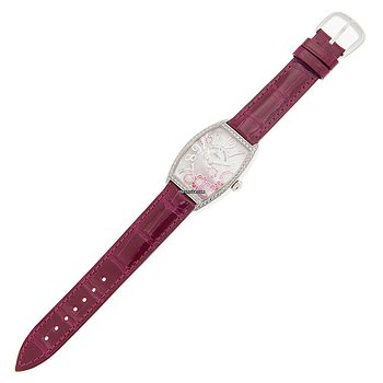 Купить часы Franck Muller Cintree Curvex Stainless Steel & Diamonds White Quartz 2852 Qz Rel Mop Rs D 1R(AC)  в ломбарде швейцарских часов