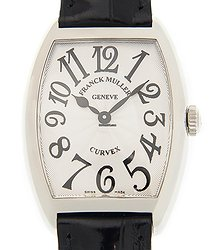 Franck Muller Cintree Curvex Stainless Steel Silver Quartz 7502 Qz (AC)