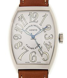 Franck Muller Cintree Curvex Stainless Steel White Automatic 6850 M C Casa Blanca (AC)