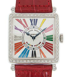 Franck Muller Color Dreams Stainless Steel & Diamonds White Quartz 6002 H Qz D 1r Col Drm (AC)